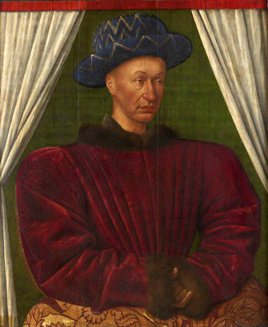 Charles_VII_by_Jean_Fouquet_1445_1450